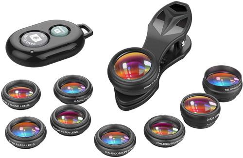 Mobile Phone Camera Lens Kit valued at £19.99 winning bidder