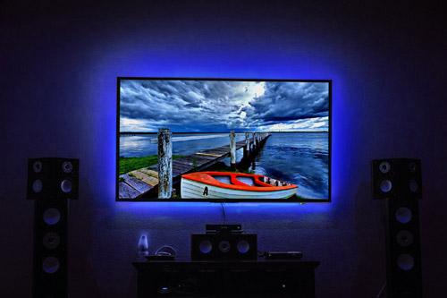 USB TV LED Backlight valued at £12.99 winning bidder