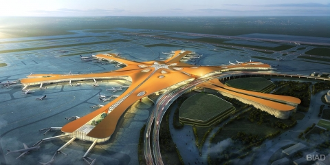 Check out Beijing's new 'starfish' airport