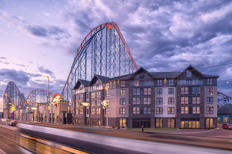 Blackpool: Seafront Hotel