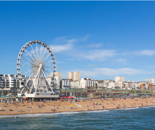 Luxury Stay In Brighton for Two valued at £125.00 winning bidder