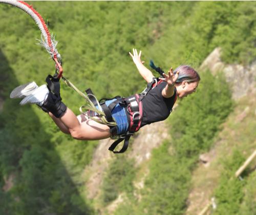 Bungee Jump Experience valued at £69.00 winning bidder