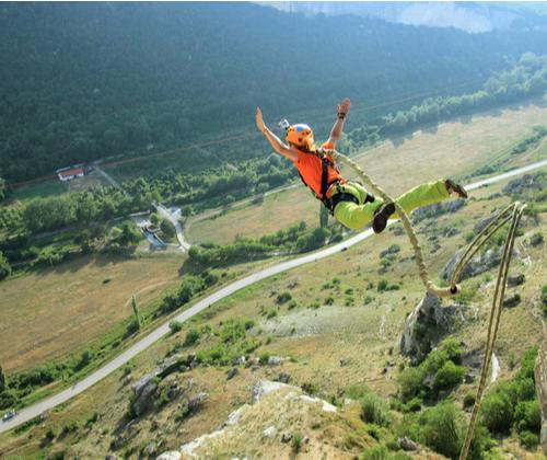 Lovers Leap Bungee Jump winning bidder