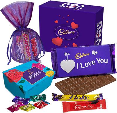 Cadbury Valentine Box valued at £14.00 winning bidder