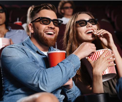 Cinema Tickets with Popcorn valued at £24.99 winning bidder