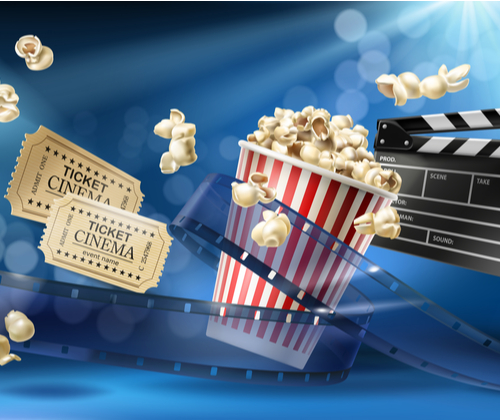 Cinema Tickets & Popcorn for 2 winning bidder