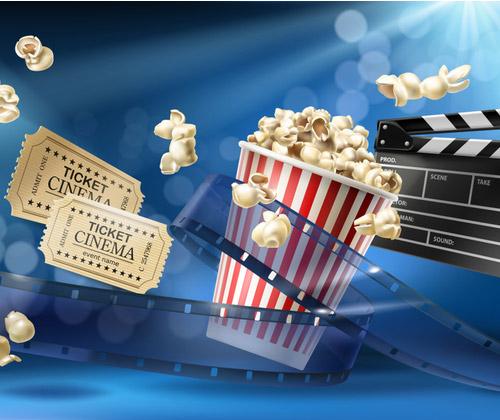 Cinema Tickets with Popcorn winning bidder