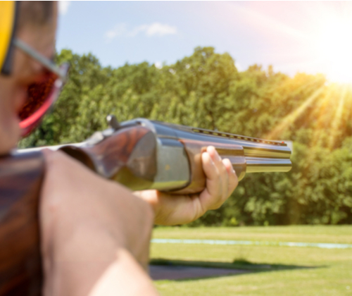 Clay Shooting & Refreshments valued at £99.00 winning bidder