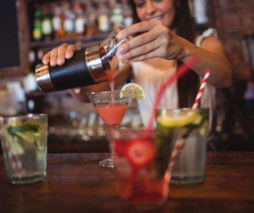 Cocktail Masterclass for Two winning bidder