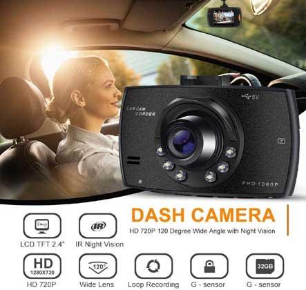 Dash Cam with Night Vision winning bidder