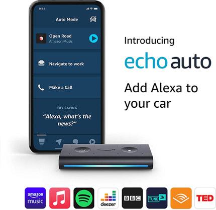 Echo Auto - Alexa in the Car valued at £49.99 winning bidder