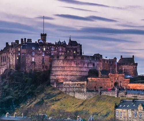 Edinburgh Escape for Two winning bidder