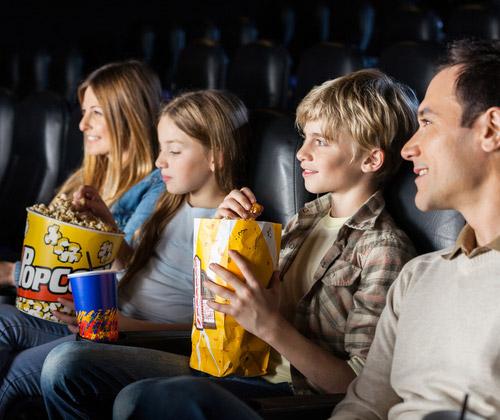Family Cinema Tickets & Snacks winning bidder