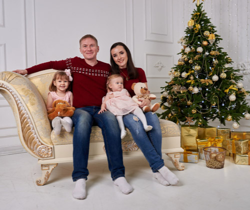 Family Photoshoot with a £50 off voucher