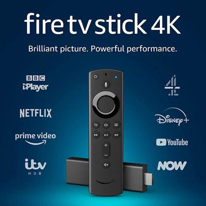 Fire Stick with Voice Remote winning bidder