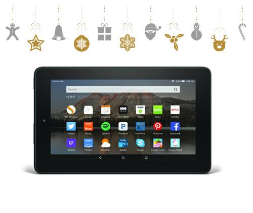 Fire 7 Tablet winning bidder