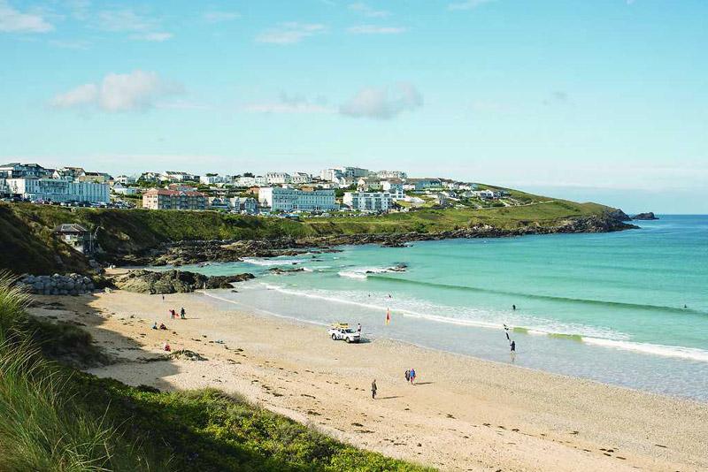Cornwall: Beachfront Spa