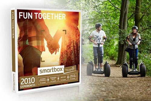Fun Together Experience Box winning bidder