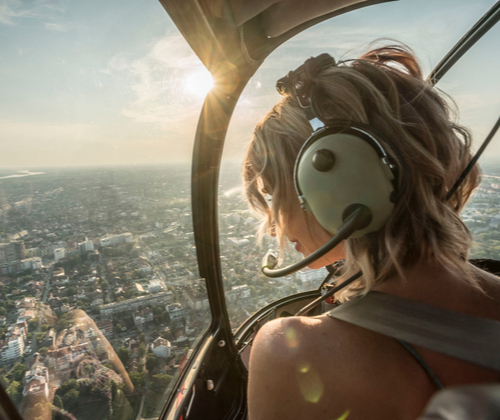 Helicopter Flight For Two valued at £198.00