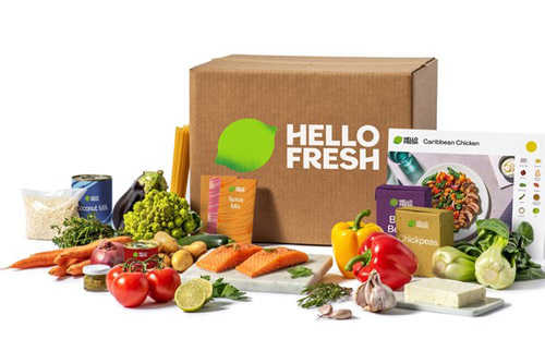 Hello Fresh Meal Kit for Two valued at £59.98