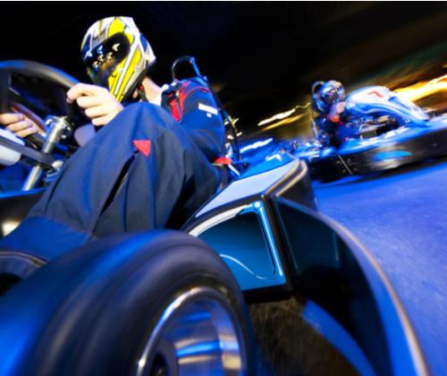 Indoor Karting Race for Two winning bidder