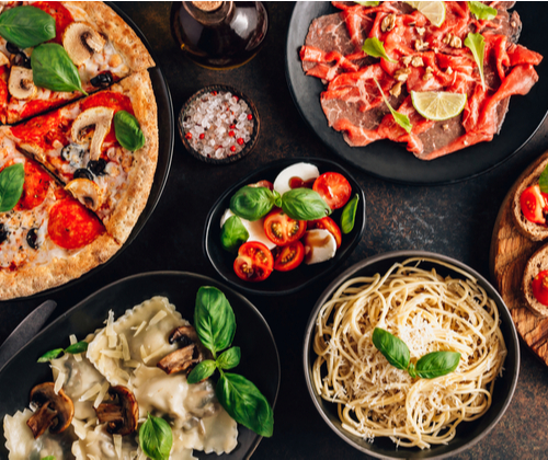 Three Course Italian Meal for Two valued at £53.90 winning bidder