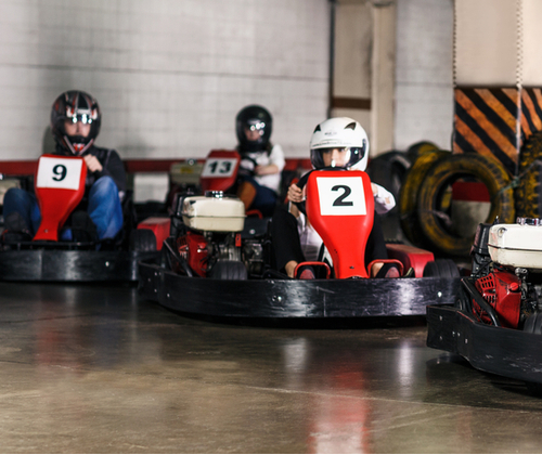 Indoor Karting Race for Two valued at £99.00