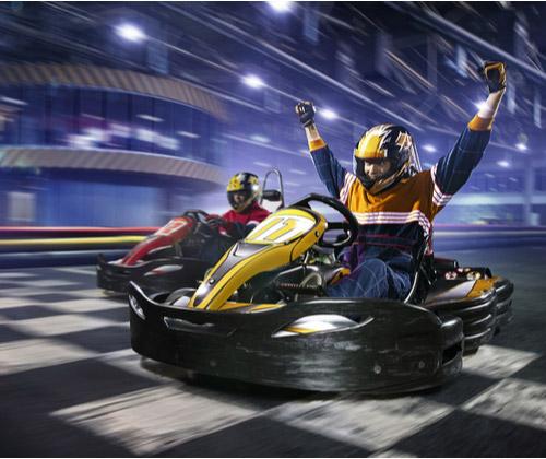 Indoor Karting for Two winning bidder