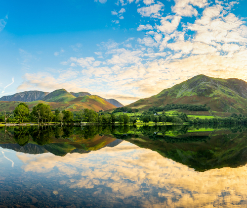 Lake District Stay for Two valued at £125.00 winning bidder