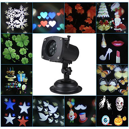 Seasonal LED Projector winning bidder