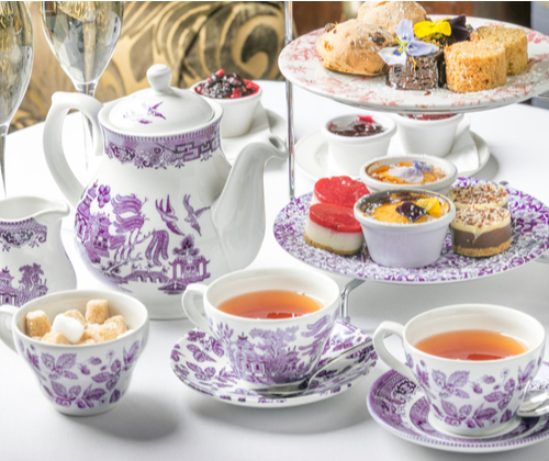 Luxury Afternoon Tea for Two valued at £118.00 winning bidder