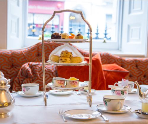 Luxury Afternoon Tea for 2 winning bidder