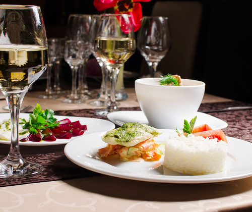 Three Course Meal for Two valued at £30.00