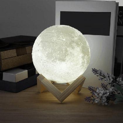 Colour Changing Moon Lamp winning bidder