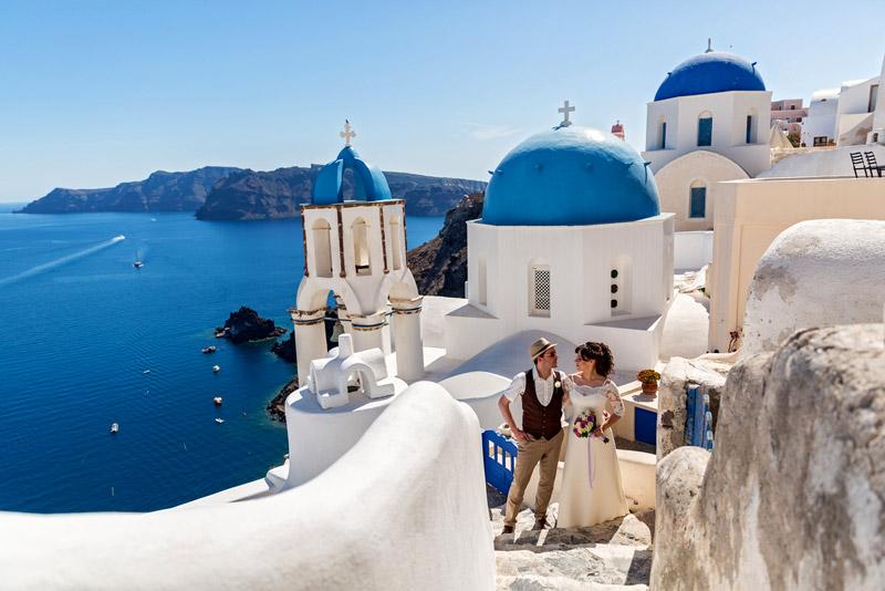 Santorini: Wedding Package