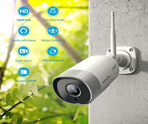 Outdoor Security Camera winning bidder