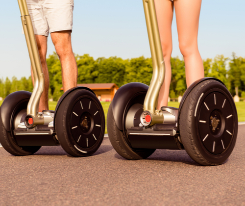 Segway Experience for Two valued at £78.00 winning bidder