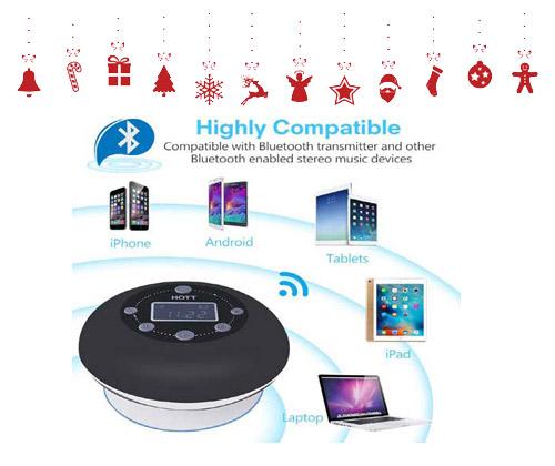 Bluetooth Shower Speaker winning bidder