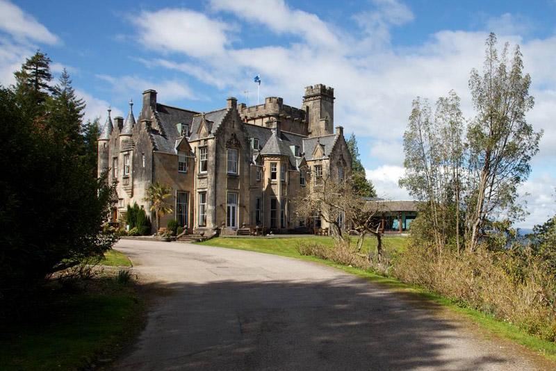 Scotland West Coast: Castle Hotel