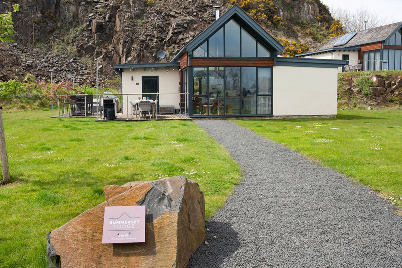 Northumberland: Detached Lodge