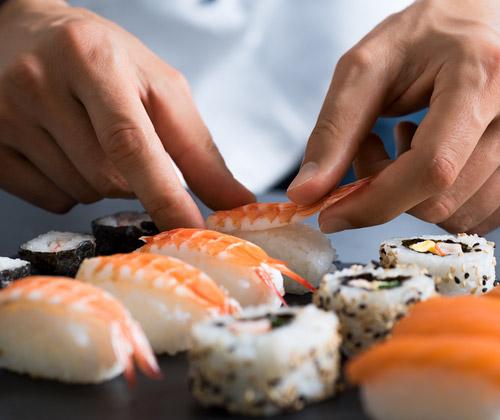 Sushi Making Class for Two winning bidder