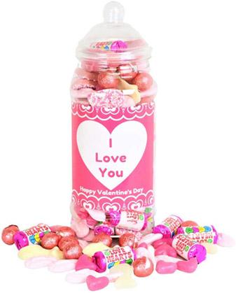 Valentines Sweet Jar winning bidder