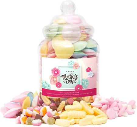 Mothers Day Sweet Jar valued at £20.00 winning bidder
