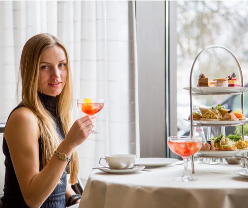 Afternoon Tea & Cocktail for 2 winning bidder