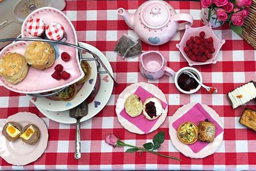 Afternoon Tea at Home winning bidder