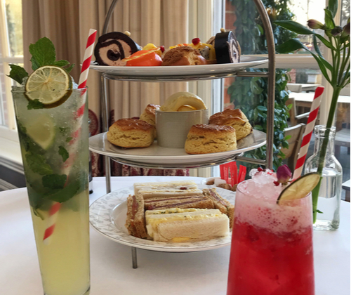 Afternoon Tea & Cocktail for 2