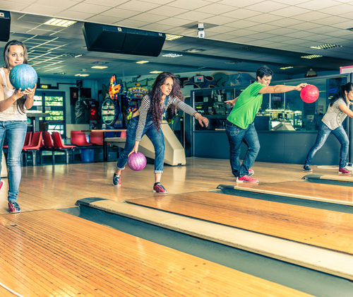 Ten Pin Bowling for 6 winning bidder