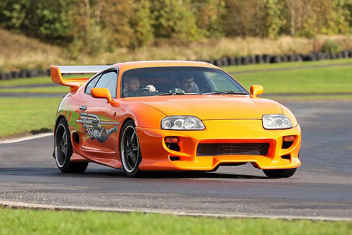 Junior Toyota Supra Experience valued at £49.00 winning bidder