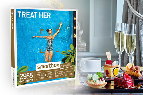 Treat Her Experience Box winning bidder