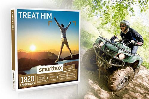 Treat Him Experience Box valued at £49.99